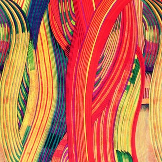 alexander henry fabrics mashama stripe red multi 7868 a. Black Bedroom Furniture Sets. Home Design Ideas